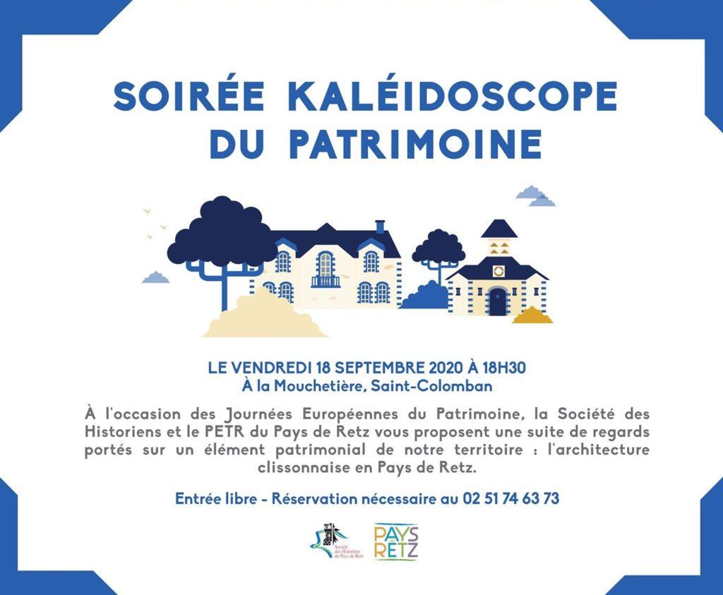 SOIRÉE KALÉIDOSCOPE DU PATRIMOINE 2020